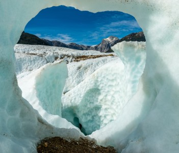 Glacier Exploradores in Chile