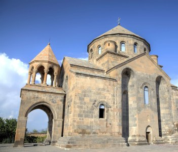 Vioew of Saint Hripsime Church. Etchmiadzin (Vagharshapat), Armenia