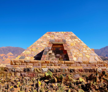 Pucara de Tilcara is an archaeological site of the Inca located in the Quebrada de Humahuaca a mountain valley in the area Jujuy in Argentina.