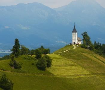 Radovljica city, Slovenia