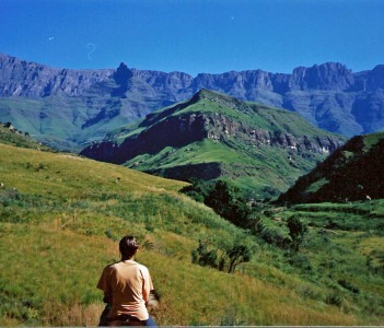 Cathedral Peak and the Drakensberg Mountains