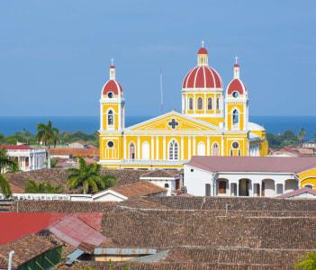 City view of Granada Nicaragua