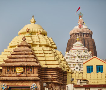 Jagannath Temple in Orissa
