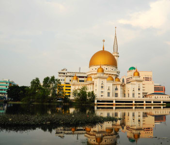 Royal Town Mosque located at Centre of Klang Town, Selangor