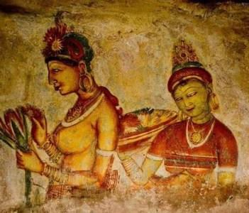 Sigiriya painting