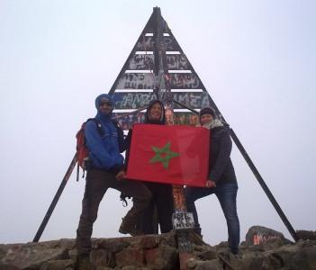 the Toubkal peak