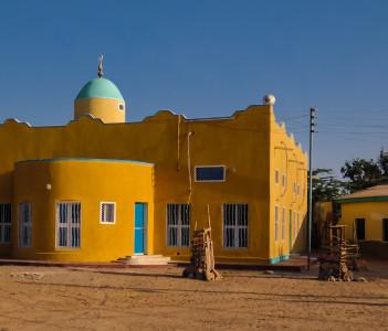 Mosque in Berbera Somalia