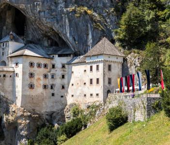 Predjama Castle Inner Carniola South-central Slovenia