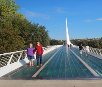 Sundial Bridge at Turtle Bay in Redding