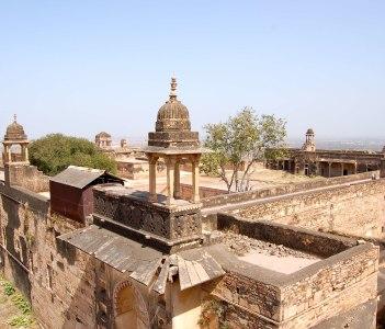 Man Mandir, vu depis Gujari Mahal