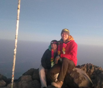 Mount Meru summit 4566m