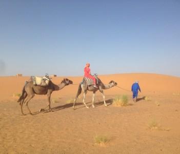 Merzouga sand dunes