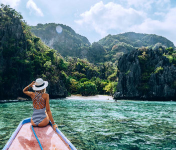 Travelling tour in Asia El Nido Palawan Philippines