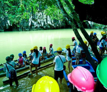 For Visayan Tour, I act as a Tour Coordinator which coordinates with the Hotel and transportation, do advance payments on the inclusions of the Tour,  since, only guides in that particular Area in the Visayan Regions are allowed.
