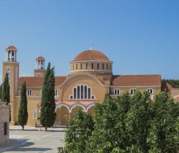 Saint George Cathedral in Paralimni Cyprus