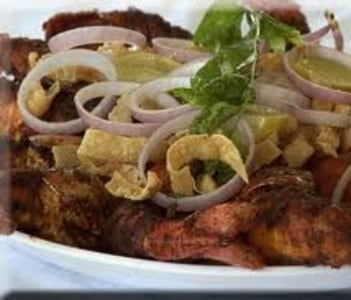 Delicious Prawns Fry in Houseboat