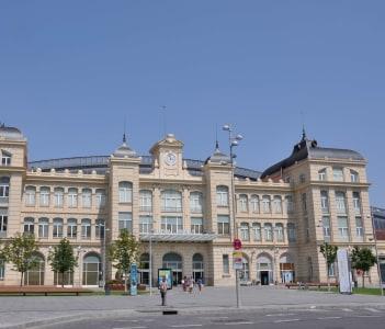 Lleida, estació de tren, d'Adolf Florensa