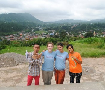 Kalaw View Point with Dragon Travel Group