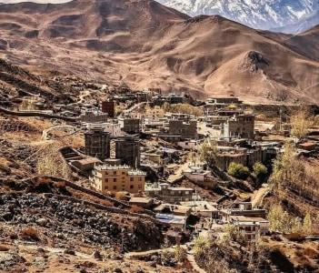 Muktinath village