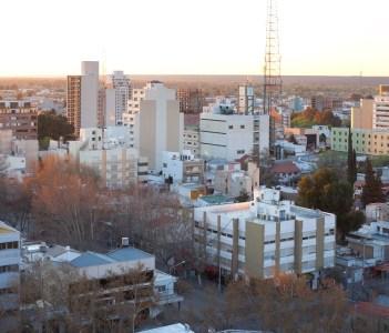 The city of Neuquen,  Argentina