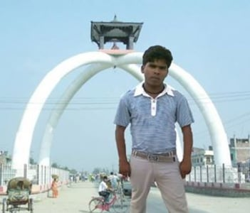 local guy at tower chowk,