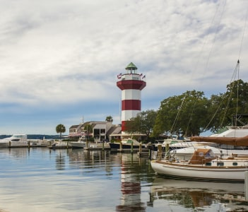 Harbor Town on the island of Hilton Head South Carolina