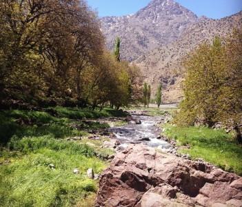 Imlil valley Morocco Atlas Mountains