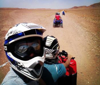 Excursion with motoquad