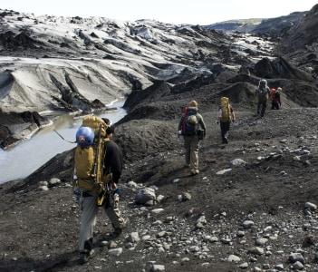 Glacier training at Icelandic Air Policing