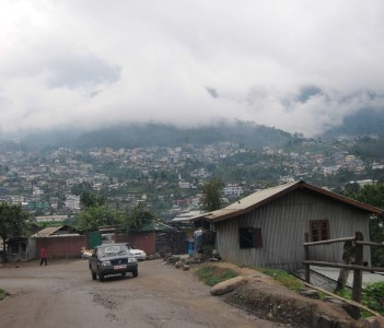 Kohima Mountainside View