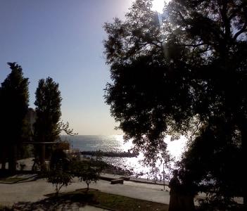 Promenade on the Black Sea Coast