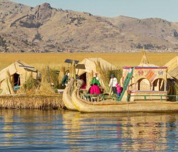 Lake Titicaca Puno Peru