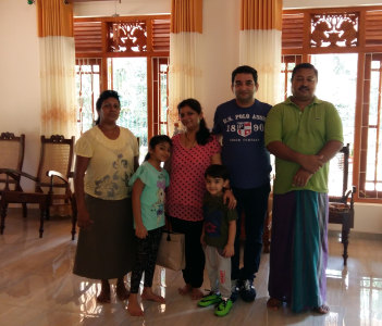 Indian family at my office