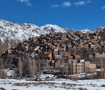 Armed village Atlas Mountains
