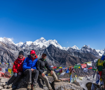 Mt. Everest view from Gokyo -ri