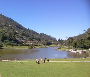 Quitandinha lake