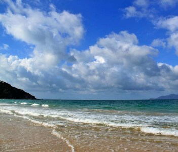 Sibu Island beach