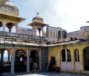 Udaipur Courtyard