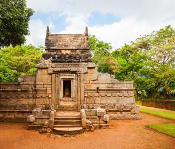 Nalanda Gedige is an ancient Hindu Temple near Matale Sri Lanka