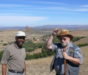 With the Colonel at Durnford's Last Stand, Isandlwana Battlefield