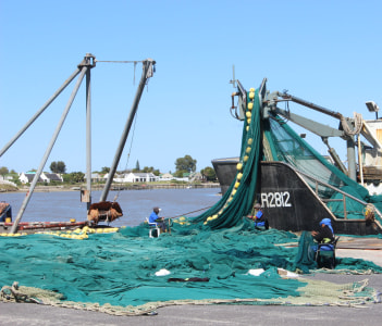 West Coast Fishing Trawler