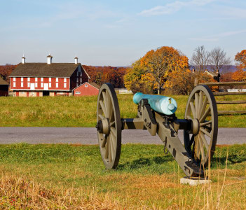 Gettysburg National Military Park Adams County Pennsylvania USA