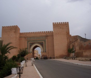 Gate into the city, Meknes