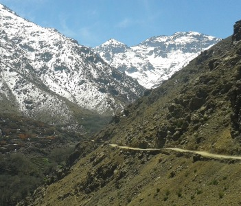 Toubkal trekking, Atlas mountains