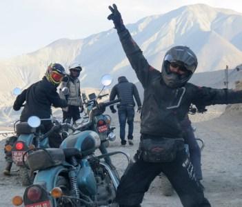 Motorbiking in Upper Mustang