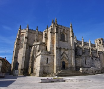 Guarda cathedral in Portugal