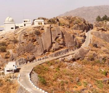 Gurushikhar peak of Aravali range in Mount Abu