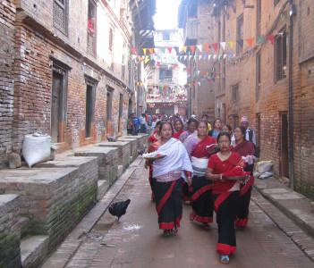 Inside Bhaktapur