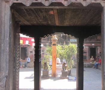 Chatu brahma vihar = a sacred buddhist courtyard