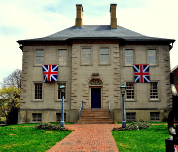 Historic Georgian Carlyle House, Alexandria Virginia